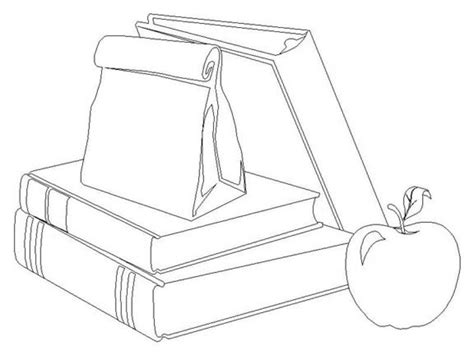 school supplies coloring page coloring home