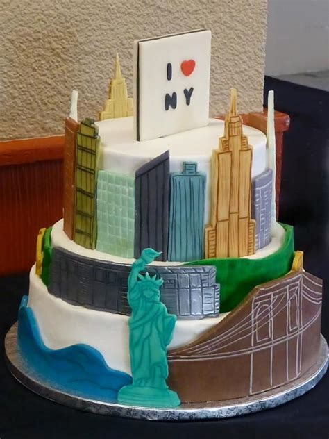 9 inspiring new york city cakes on craftsy