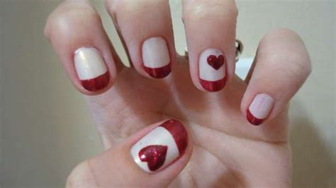 nail art for february for women over 40 nail art designs for valentine s day
