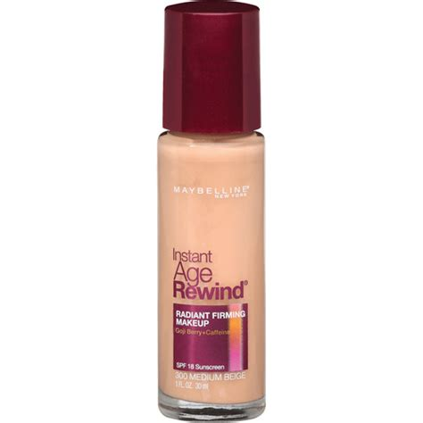 Maybelline Liquid Foundation maybelline instant age rewind liquid foundation walmart