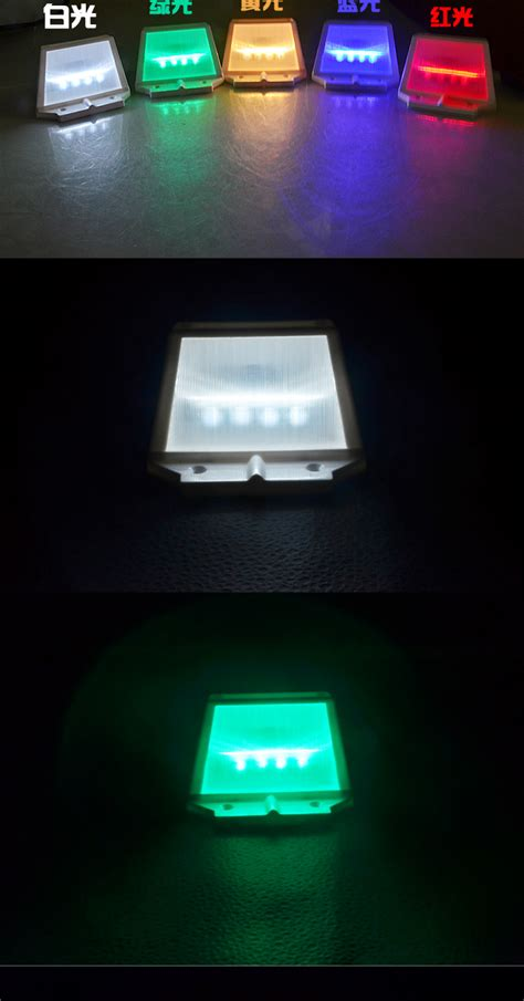 4 Led Solar Led Light Waterproof Green Color 11street Solar Led Light Malaysia