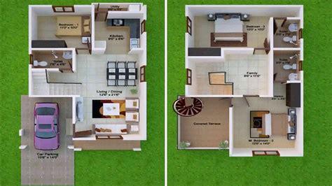 30x50 house plans 30x50 duplex house plans facing