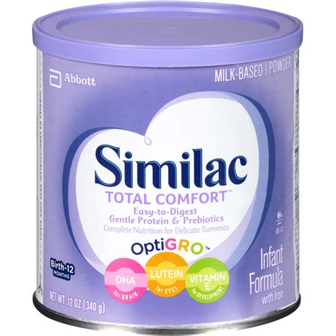 similac total comfort reflux similac total comfort total comfort with iron infant