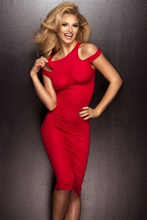 blonde bob red dress beautiful blonde in a red dress 187 nitrogfx download
