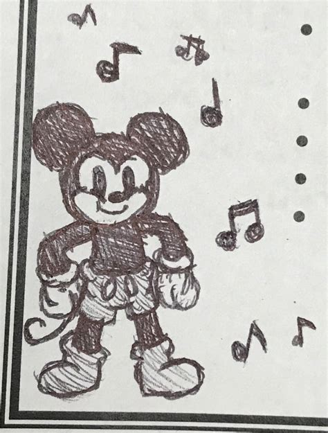doodle mickey mouse mickey mouse doodle by shinysmeargle on deviantart