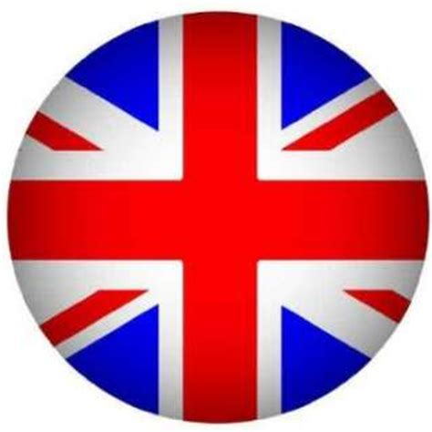 Great Britain Address Lookup Britain Flag Circle Edible Rice Paper Cupcake Toppers Cup Cake
