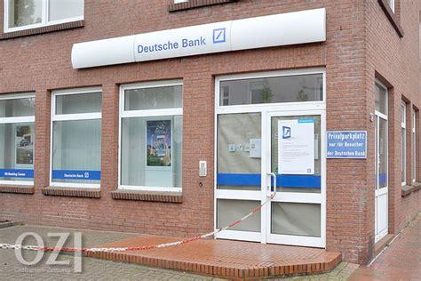 deutsche bank norden deutsche bank zieht sich aus weener zur 252 ck ostfriesen