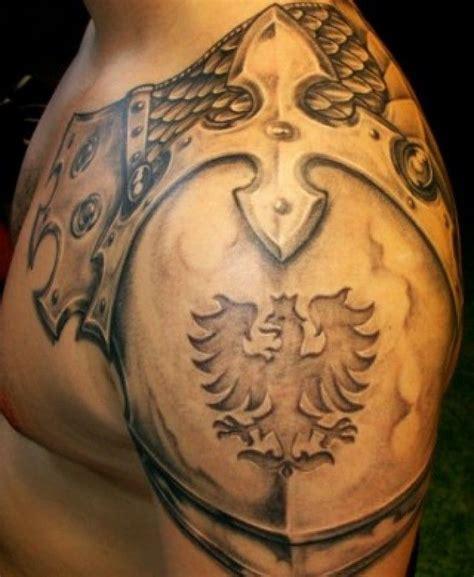 shoulder armor tattoos for men 25 best ideas about shoulder armor on