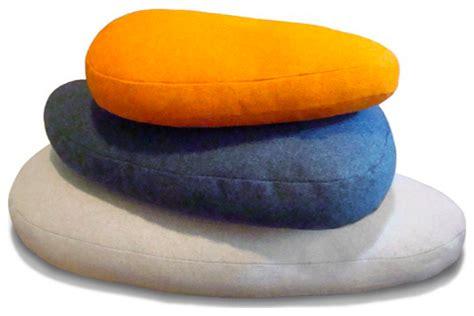 modern floor pillows pebble floor pillows iglooplay grassrootsmodern