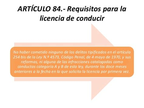 requisitos para la licencia de conducir en el df 2016 disposiciones de la ley de tr 225 nsito tema 9