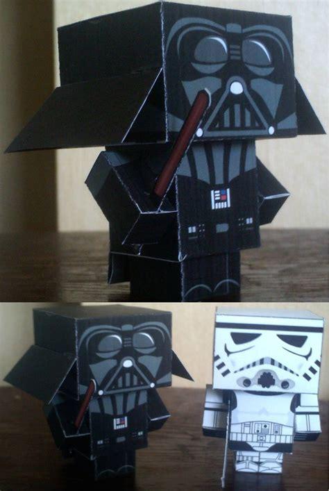 Papercraft Darth Vader - darth vader cubee by paperart on deviantart