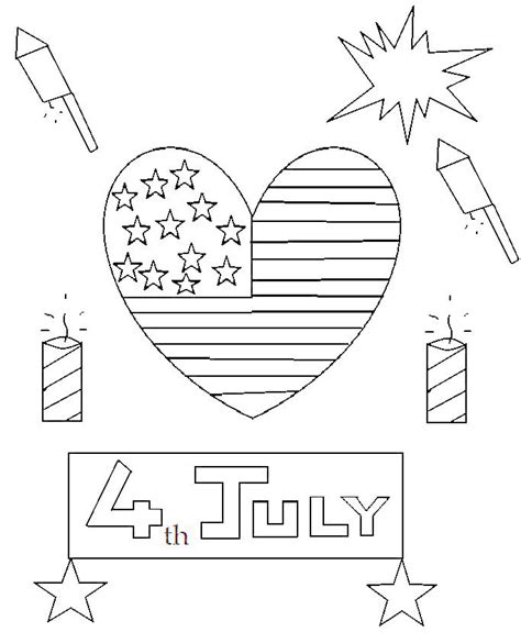 fourth of july coloring pages pdf coloring pages for 4th july