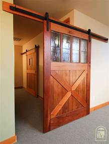 how to hang a barn door inside hanging a barn door from the ceiling search