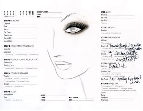 printable brown eyes printable face charts for makeup makeup vidalondon