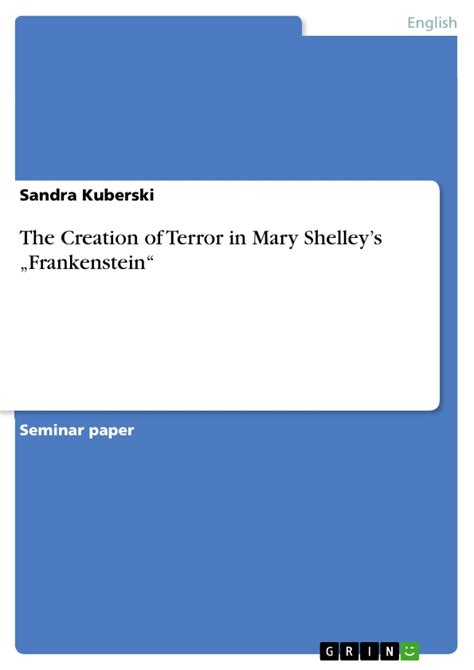 Thesis Statements For Frankenstein by Thesis Statements For Frankenstein By Shelley