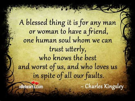 blessed      man  woman    friend   tought    soul