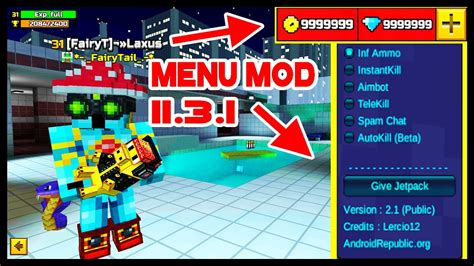 pixel gun 3d apk mod pixel gun 3d mod hack v12 0 0 max level unlimited coins gems anti ban android mods