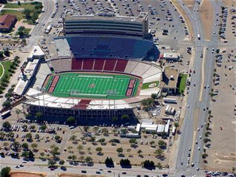 texas tech stadium map college football quest trip report oklahoma texas tech