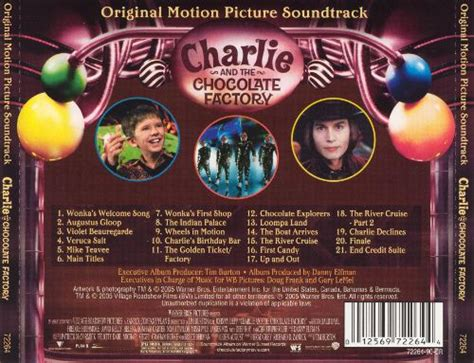 danny elfman charlie and the chocolate factory charlie and the chocolate factory original motion picture