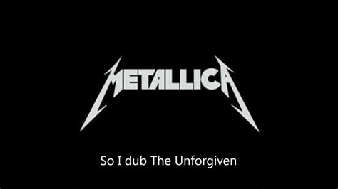 Kaos Metalic The Unforgiven Black metallica quot the unforgiven quot lyrics hd