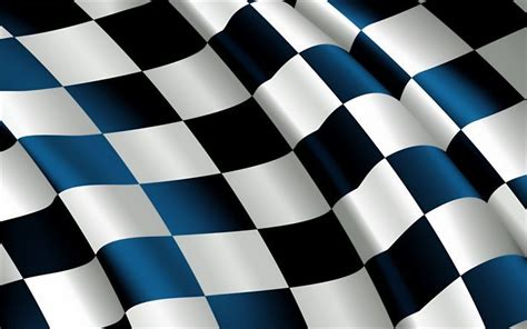 Best Wps126 Colorful Blue Line Wallpaper Dinding Walpaper Stiker wallpapers checkered flag 4k finish line flag