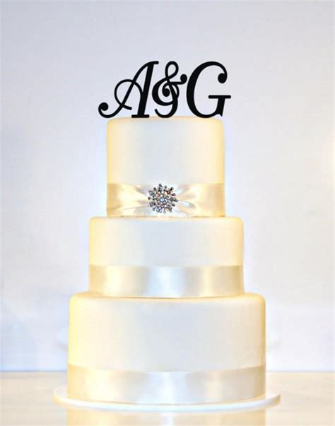 letter w wedding cake topper wedding cake topper monogram 2 3 quot initials