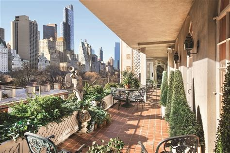 nyc garden apartment home inside joan rivers 28 million nyc penthouse apartment for