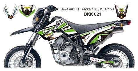 Kawasaki D Tracker Sticker by Kawasaki D Tracker 150 Klx 150 Graphic Decal Kit Code