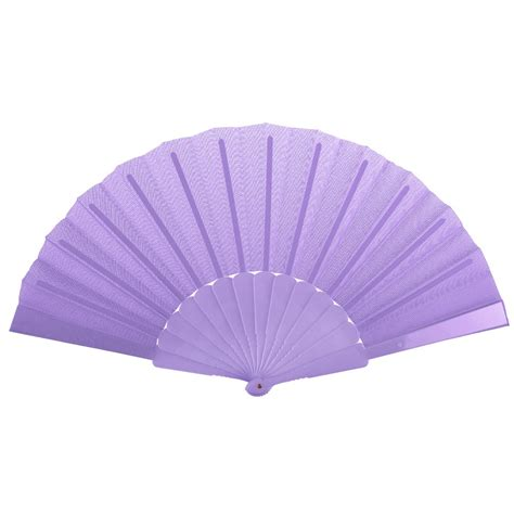 how to make a hand fan with fabric pretty wedding bridal party favor plastic fabric hand held