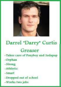 cherry valance personality traits darry curtis trading card the outsiders by jasmineweasley