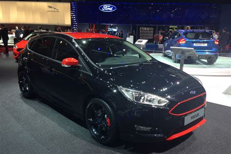 ford focus red and black editions to bolster range auto