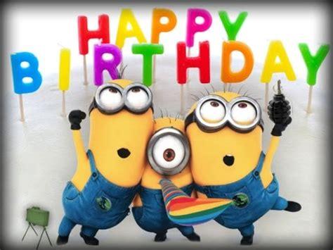 imagenes happy birthday minions happy birthday minions feliz cumplea 241 os minions