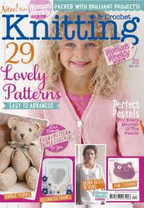 weekly knitting patterns 1000 images about knitting magazine covers on