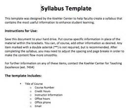 Create A Syllabus Template by Search Results For College Schedule Template Calendar 2015