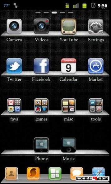 themes galaxy fit temas para samsung galaxy fit s5670