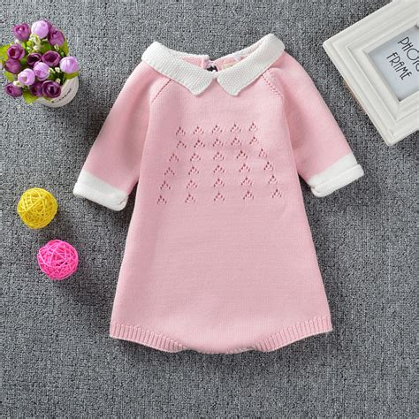 Handmade Wool Baby Clothes - new sweater dress handmade wool knitted style