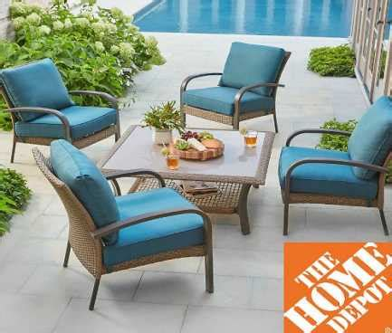 home depot patio furniture clearance extra