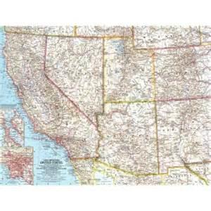 1959 southwestern united states map historical maps