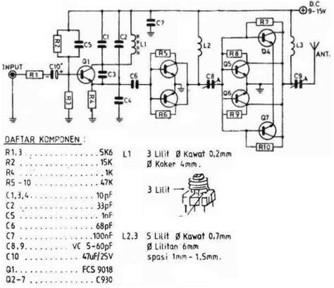 transistor alternatif untuk pemancar fm transistor alternatif buat pemancar fm 28 images elektronika industri membuat pemancar radio