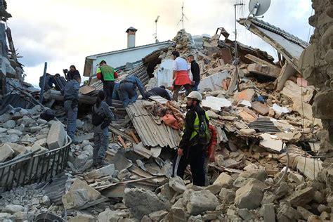 earthquake uk italy earthquake dozens dead after devastating 6 2