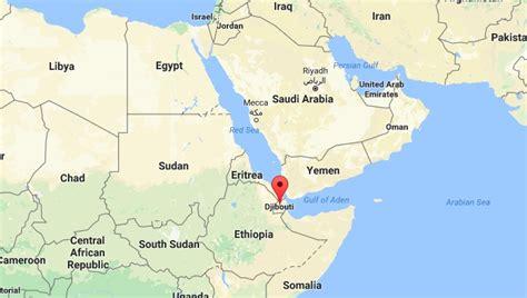 africa map yemen кинески ратни бродови плове према џибутију где се гради