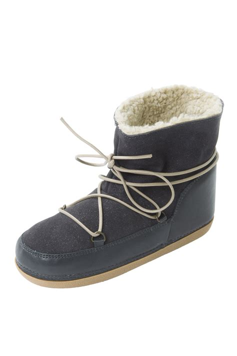 moon boots slippers anniel moon boots from marais by matieres a reflexion