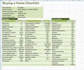 home buyer checklist template professional home buying checklist template formal word