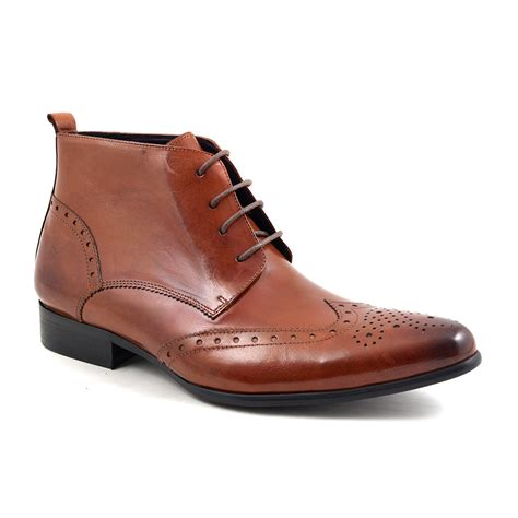 buy mens brogue lace up boots gucinari design