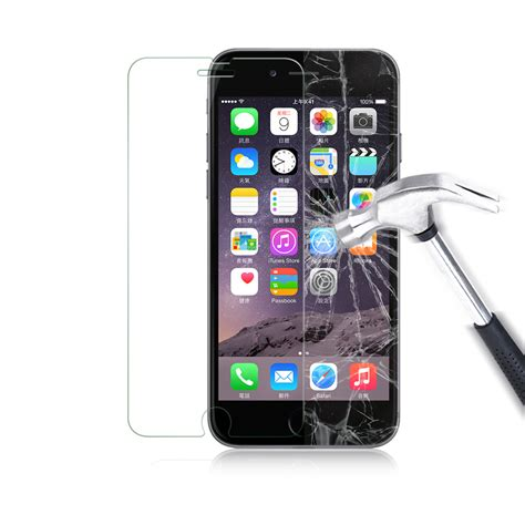 luvvitt tempered glass screen protector for iphone 6 6s 4 7 clear ebay