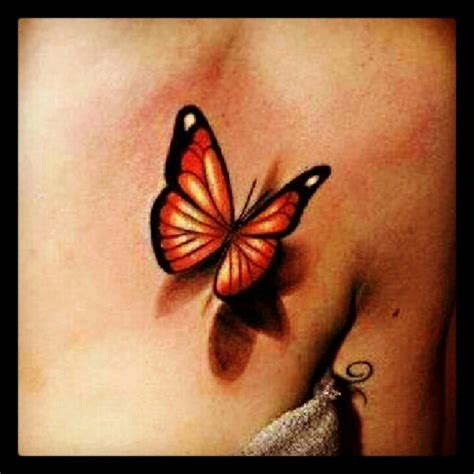 3d breast tattoos 50 amazing 3d butterfly tattoos