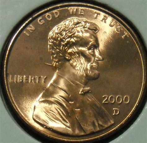 spikes lincoln 2000 d lincoln cent with spike right the neck