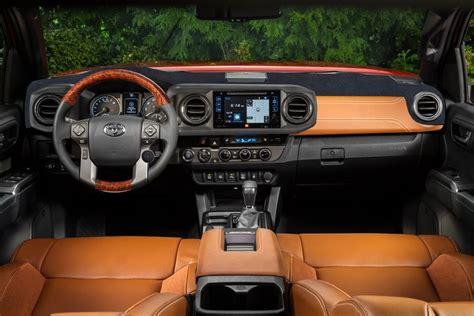 toyota tacoma interior 2017 2017 tacoma trd pro interior concept