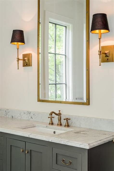 vintage medicine cabinet bathroom mirror vanity bathroom mediterranean bathroom features a gray vanity adorned with