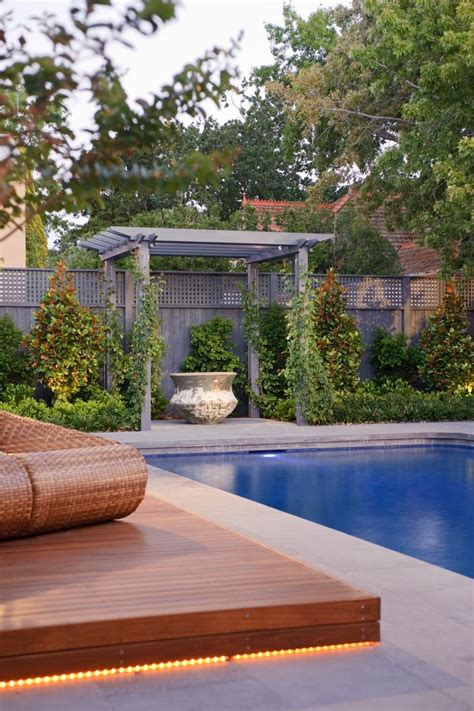 modern al fresco pool area of a heritage house on park street by cos design stylish eve